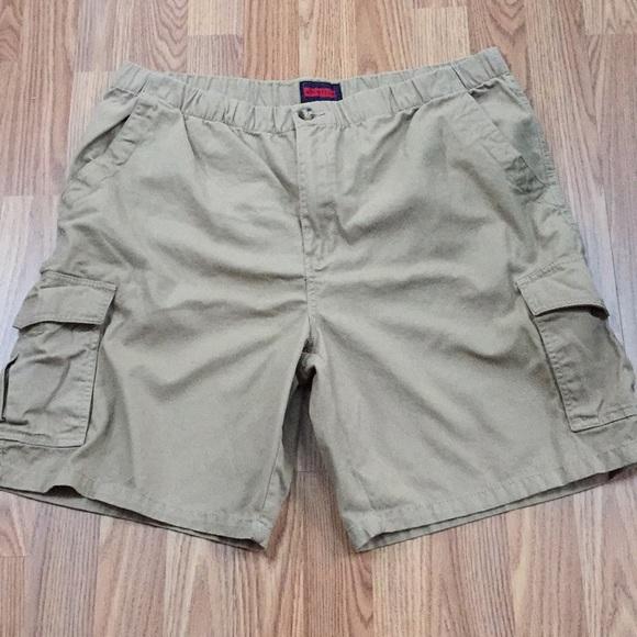 67848bf9d4 Architect Shorts | Khaki Tan Elastic Waist Cargo Short Nwot | Poshmark